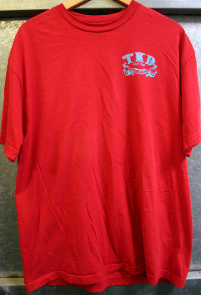 Size XL, TKD Surf Shop Moro Bay Pismo Beach Cen California Nice and Soft and Worn, Cool Surf History Location!