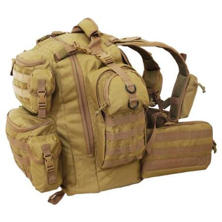 Every Day Carry Ultimate 3 Day Tactical Backpack Hydration Ready + Molle - Tan