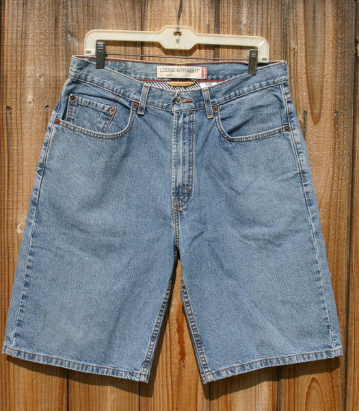 Levis 569s Size 32 Loose Straight Shorts Great Levis Denim Ready To Ship Fast!! Great Perfect Vintage Condition!