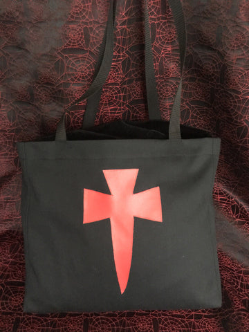 "Canvas ""Dagger Bagger"" shopping bag #DB3"