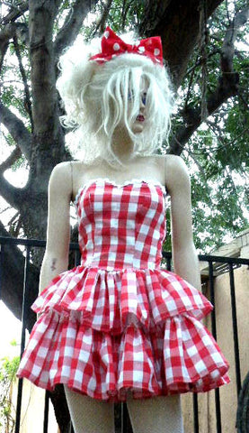 "The checkered ""Picnic"" dress"