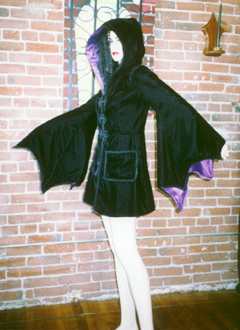"The ""Batgirl"" jacket"