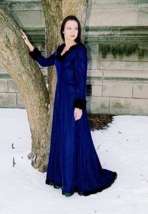 "The ""Snow Queen"" dress"