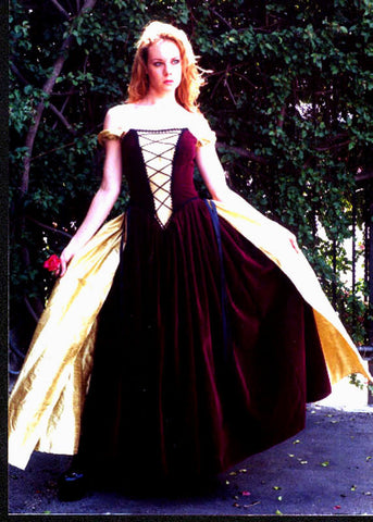 "The ""Sherwood Forest"" dress"