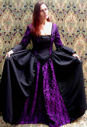 "The ""Madame de Pompadour"" dress"