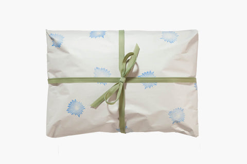 ​Add the gift wrap to your shopping cart, write a greeting to the recipient during checkout