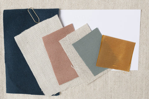 ​3, 6, or 10 fabric samples. Are you uncertain if the fabric from your favorite HETTI.-Pillows are really fitting to your sofa? We totally understand