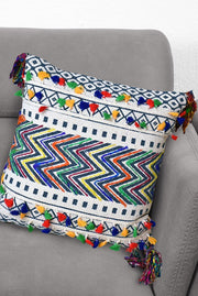 barkel cotton pillow in multi color