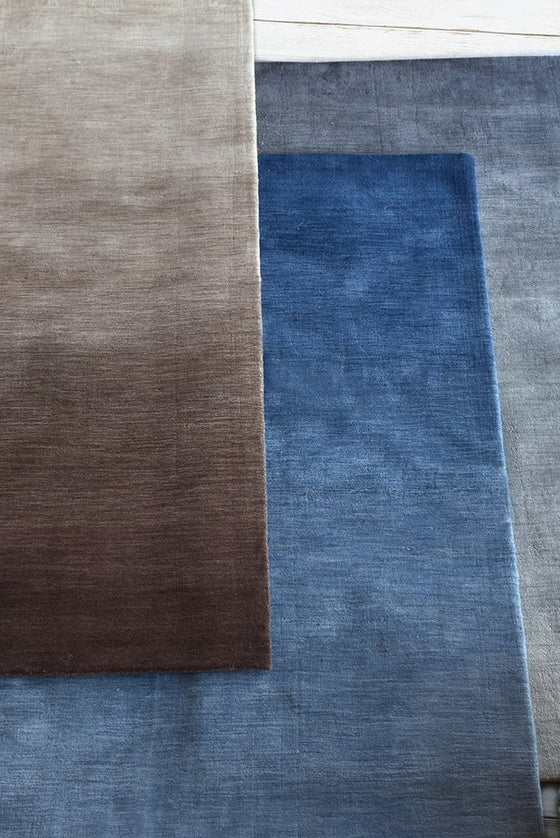 dexter wool rug in coffee color