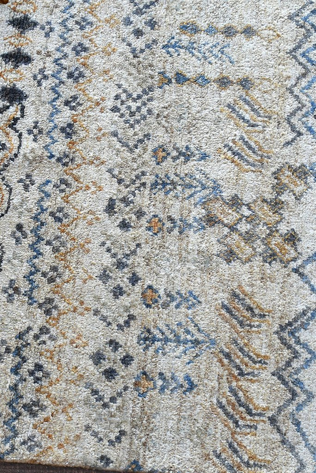 vinstra hemp rug in multi and natural color