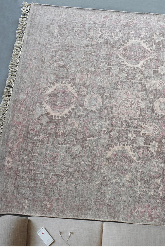 vakhan cotton rug in multi color