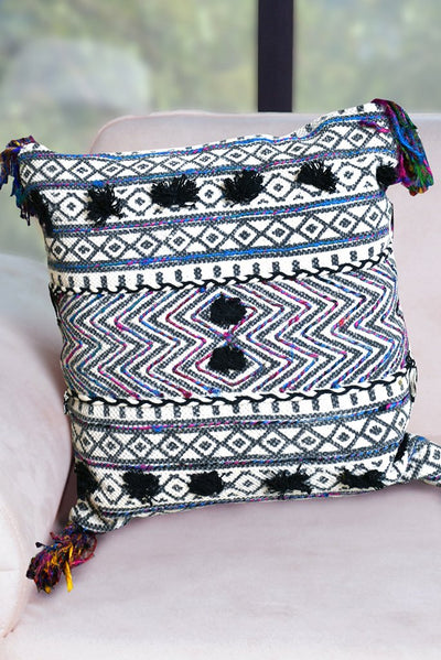 arney cotton pillow in multi color