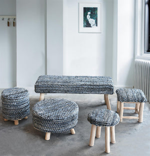 ATLAS SQUARE STOOL