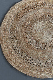beeler hemp rug in natural color