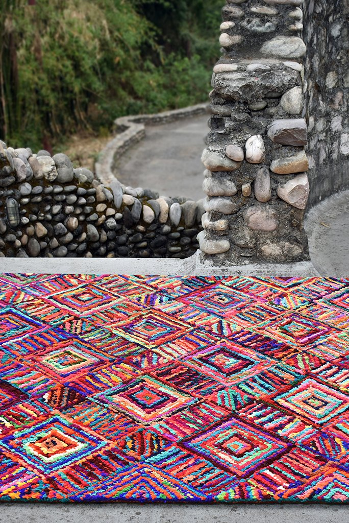 edmund recycled rug in multi color