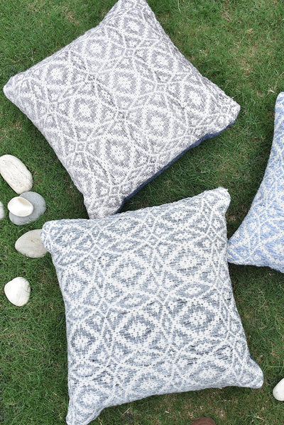 maderia PET pillow in grey color