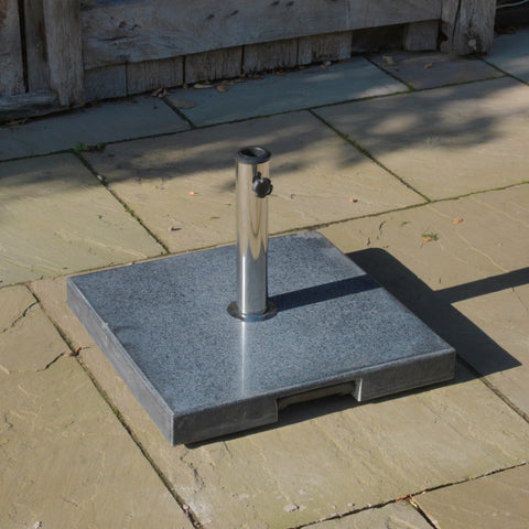 40Kg Granite-Effect Concrete Parasol Base