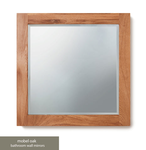 Solid Oak Large Mirror