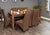 Shiro Walnut Large Dining Table (Seats 6-8)