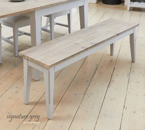 Signature Greyining Bench (4-Seater)