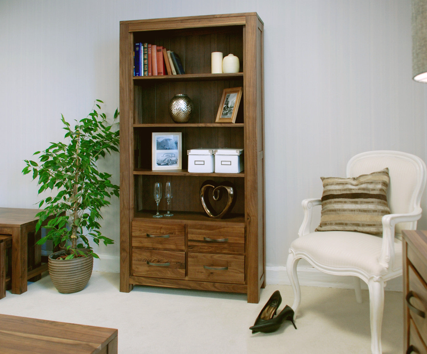 unit drawer display furniture with solid itm mexican pine rustic bookcases corona panama bookcase waxed
