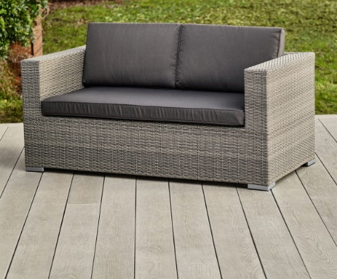 Cologne Rattan Range 2 Seater Sofa