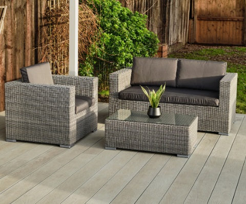 Cologne Rattan Sofa set
