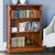 La Reine Mahogany Low Open Bookcase