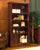 La Roque Mahogany Tall Open Bookcase