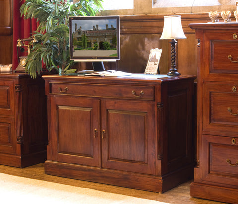 La Roque Mahogany Hidden Home Office