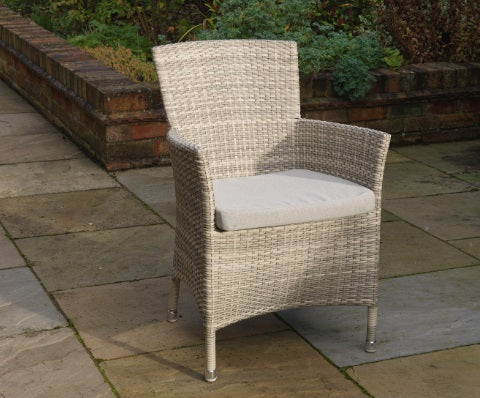 Melbourne Range Rattan Armchair with Cushion
