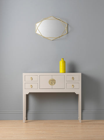 The Nine Schools Qing Oyster Grey Small Console Table