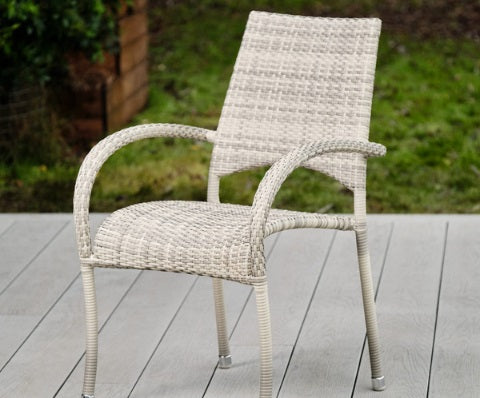 Paris Rattan Range Stacking Dining Armchair