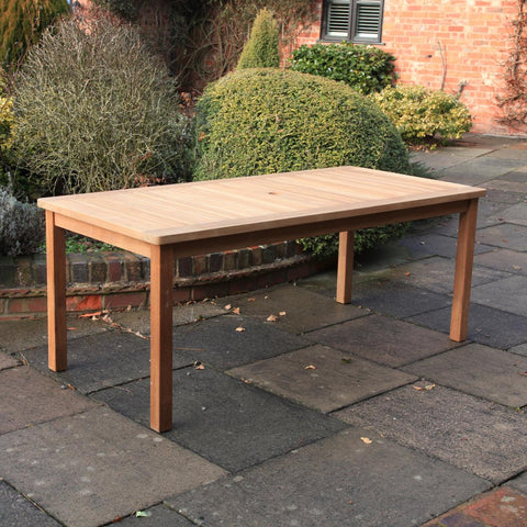 Teak Rectangular Dining Table (1900mm)
