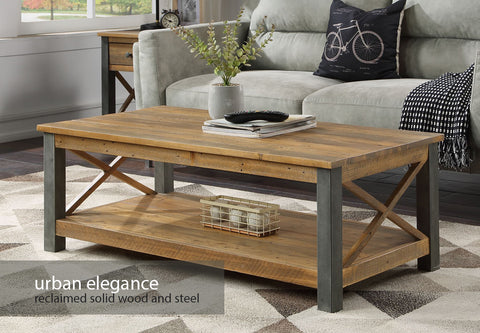 Urban Elegance Reclaimed Coffee Table