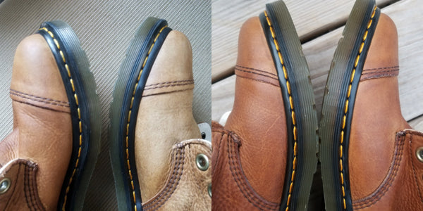 before and after doc martens