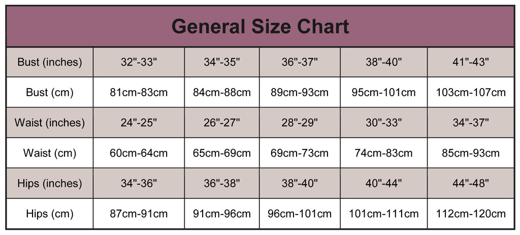 international and us size conversion chart