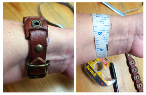 tricks and tips to measure a wrist when you want to surprise them