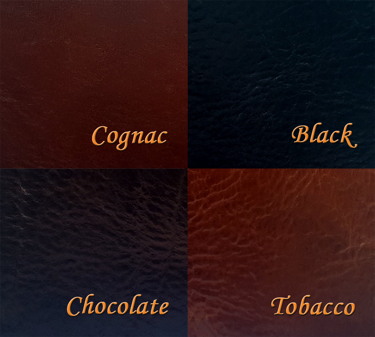 Aztec leather color choices