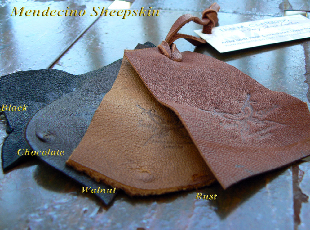 Sheepskins leather choices for Rebel Halter Top