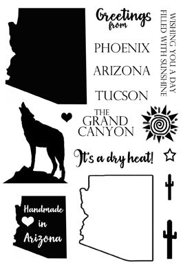 Arizona Greetings Stamp Set