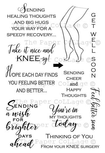 *Stamp Set - Get Well Soon