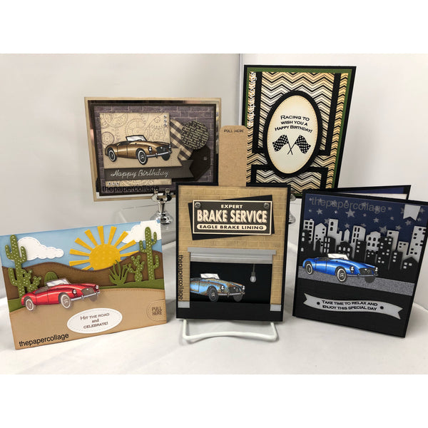 CLASS KIT: Retro Car Cards