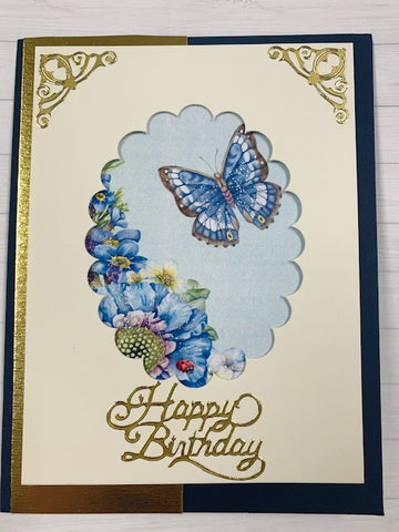 Butterfly Card Kit - 8 Cards