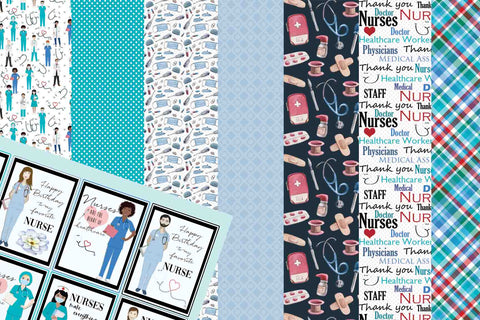 Nurse Healthcare Paper Collection