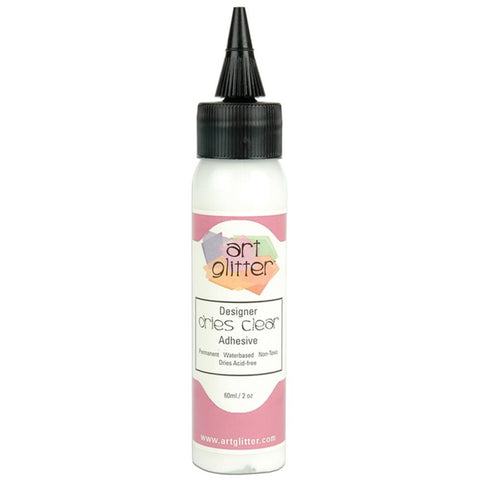 Art Glitter Glue Clear Adhesive 2oz