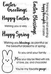Easter Greetings Stamp Set