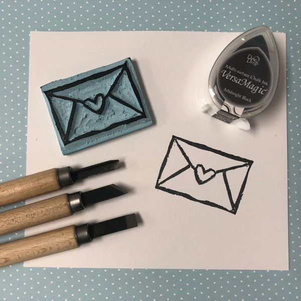 September 21, Intro to Stamp Carving, 11AM-1PM
