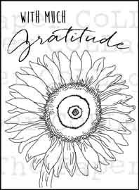 Digi Download - Sunflower Gratitude