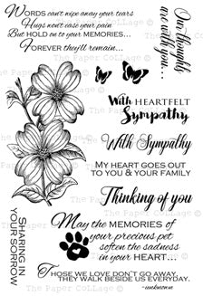 *Stamp Set - Sympathy Sentiments